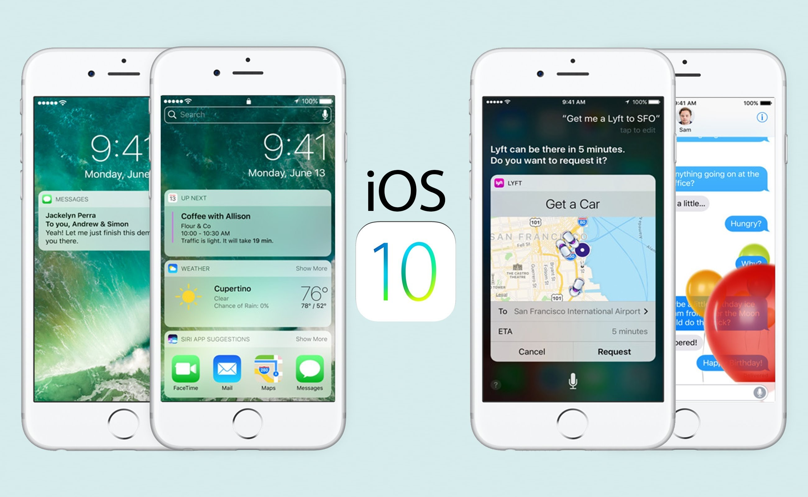 Apple Ios 10 Vs Ios 9 New Features Apple Introduced With