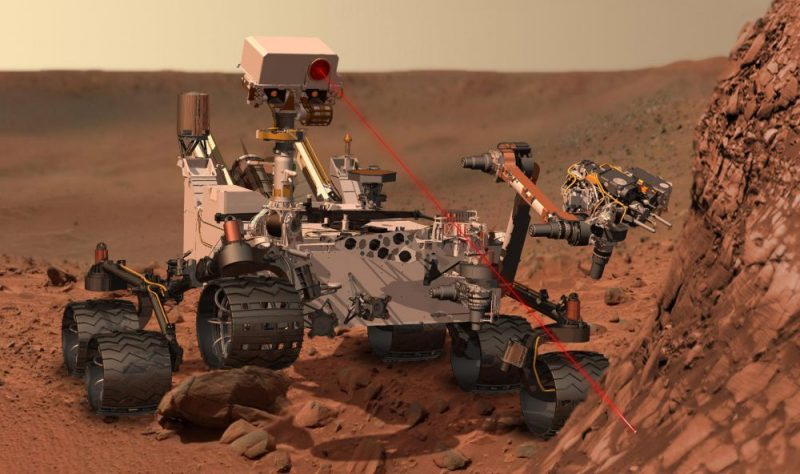 Curiosity Rover on Mars to find water