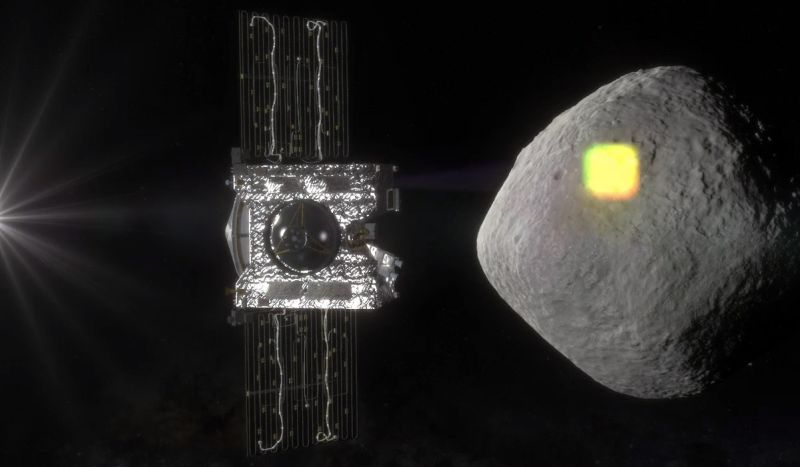 3D mapping of the asteriods Bennu