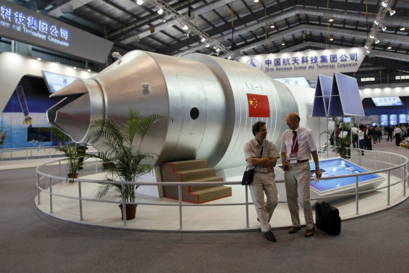 China to build its own sation similiar to ISS