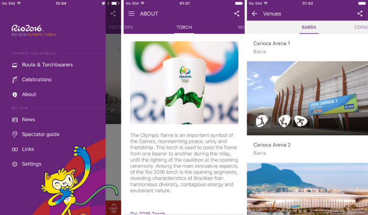 2016 Rio Olympics on Android