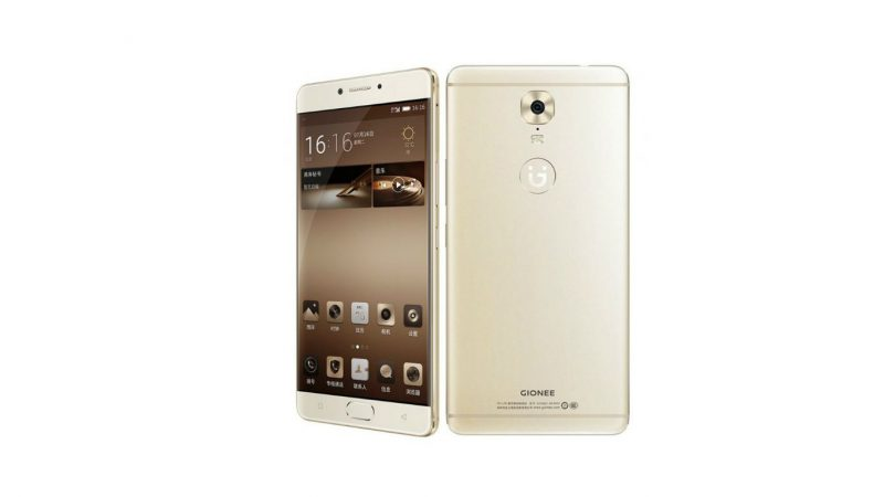 Gionee M6 India launch