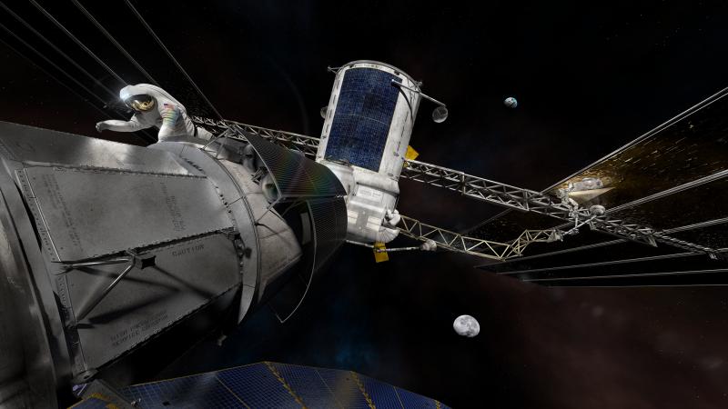 NASA deep space exploration