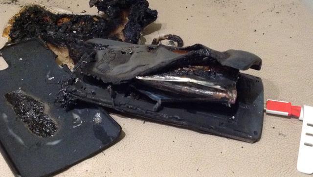 OnePlus One burst