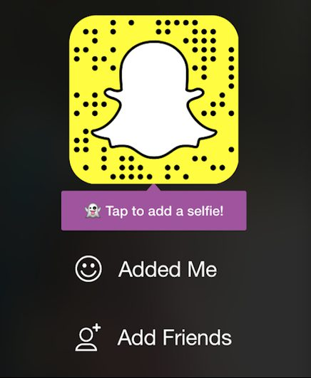 snapchat ghost code