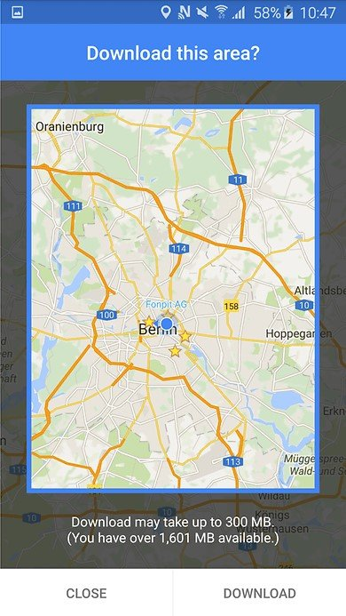 How to save google maps offline on android and ios devices google maps update offline areas w782 gumiabroncs Image collections