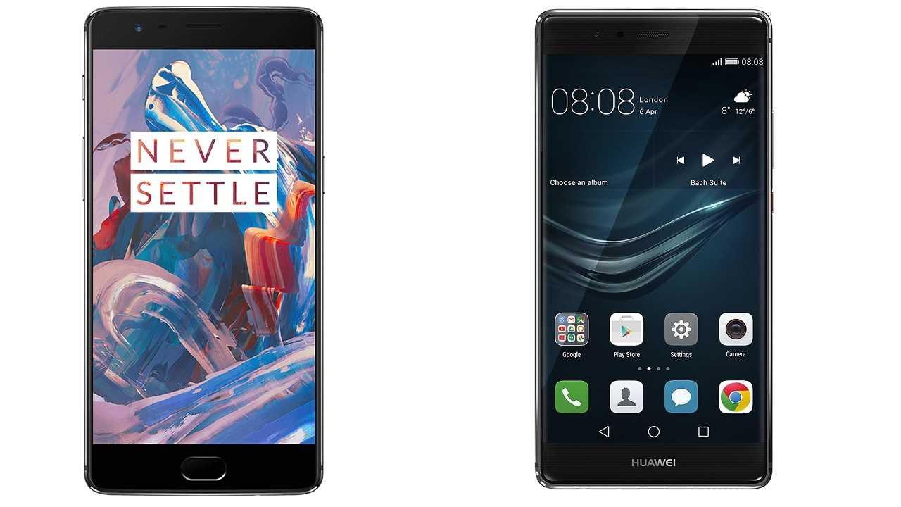 Huawei P9 vs OnePlus 3