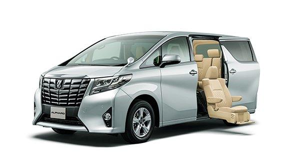 Toyota Alphard luxury MKV