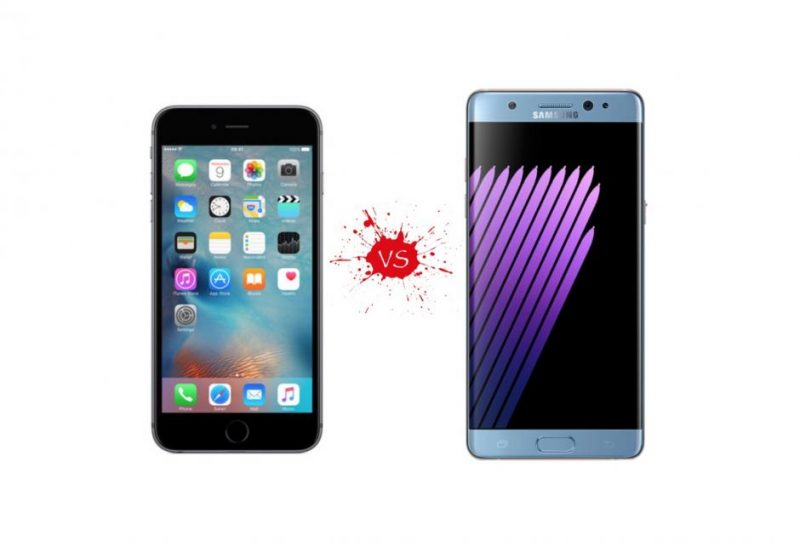 iPhone 7 Plus vs Samsung Galaxy Note 7