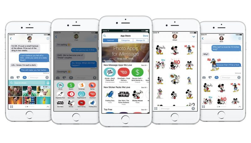 imessage apps for ios 10