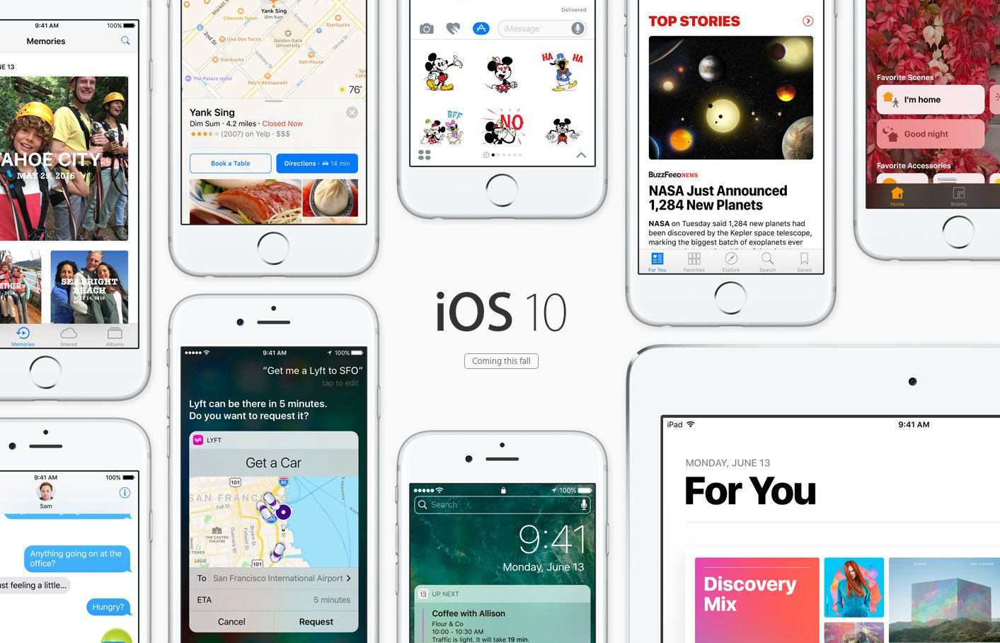 iOS 10 update download and install