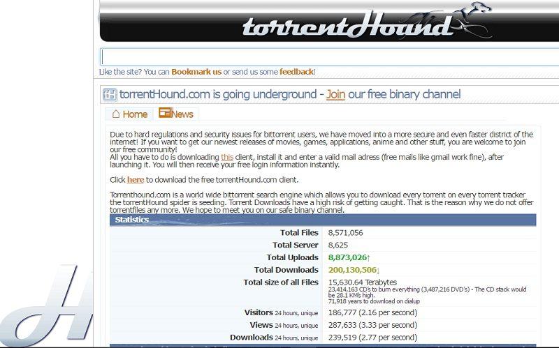 TorrentHound shuts down