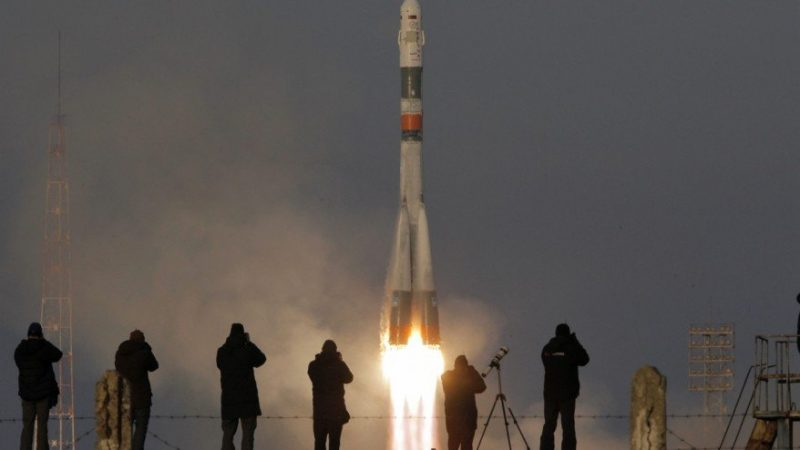 Russian spacecraft ISS