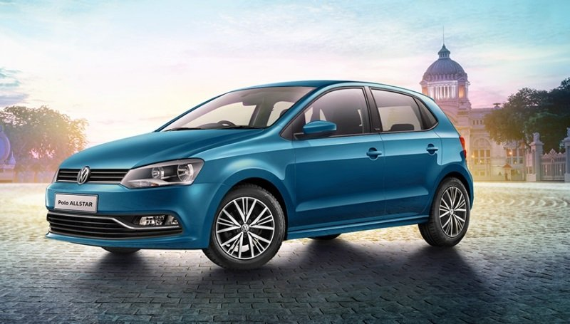 volkswagen launches polo allstar in india in five colours price and features. Black Bedroom Furniture Sets. Home Design Ideas
