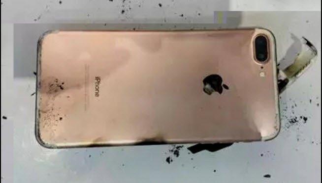 iPhone 7 Plus explode