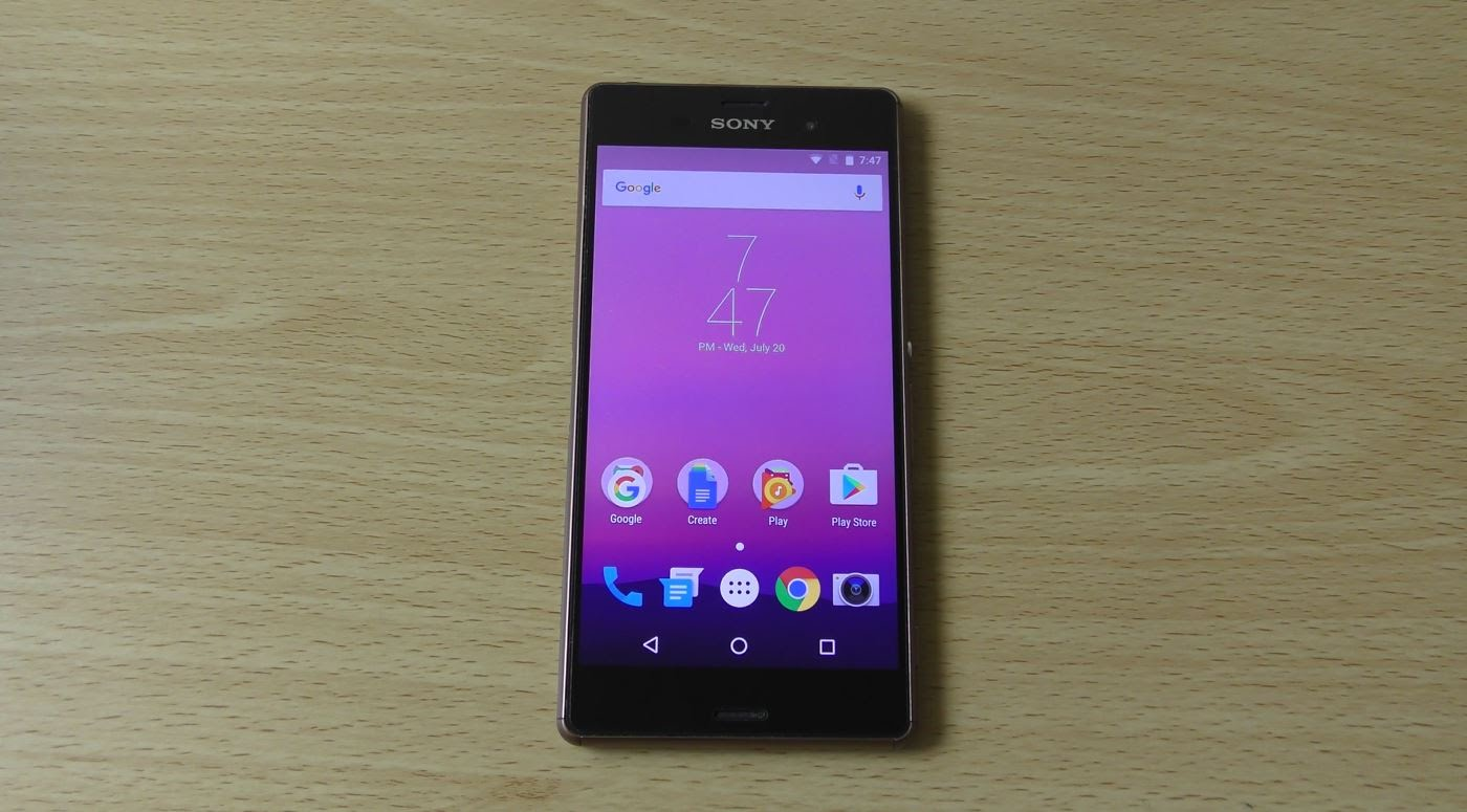 Android 7.0 Nougat Xperia
