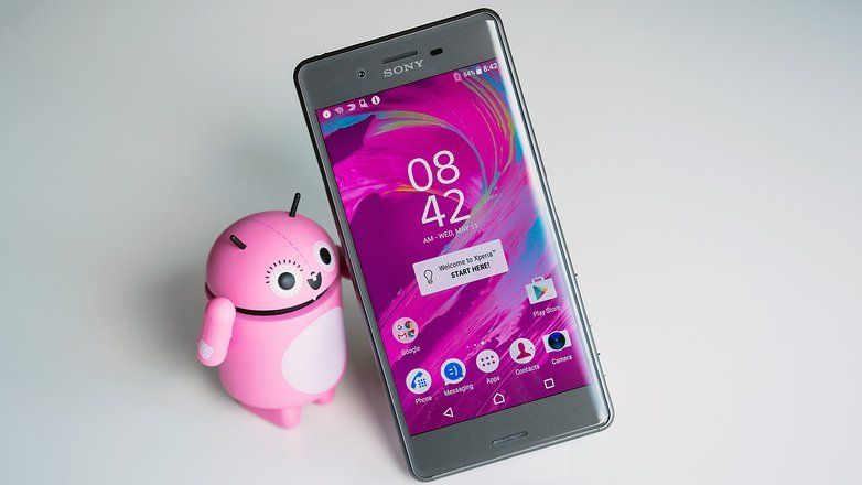 Android 7.0 Nougat Soy Xperia X