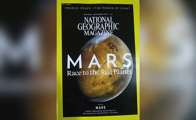 Mars pictures National Geographic cover