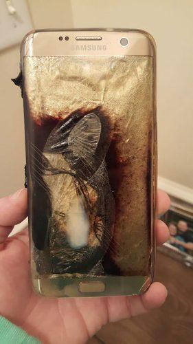 samsung galaxy s7 edge explode