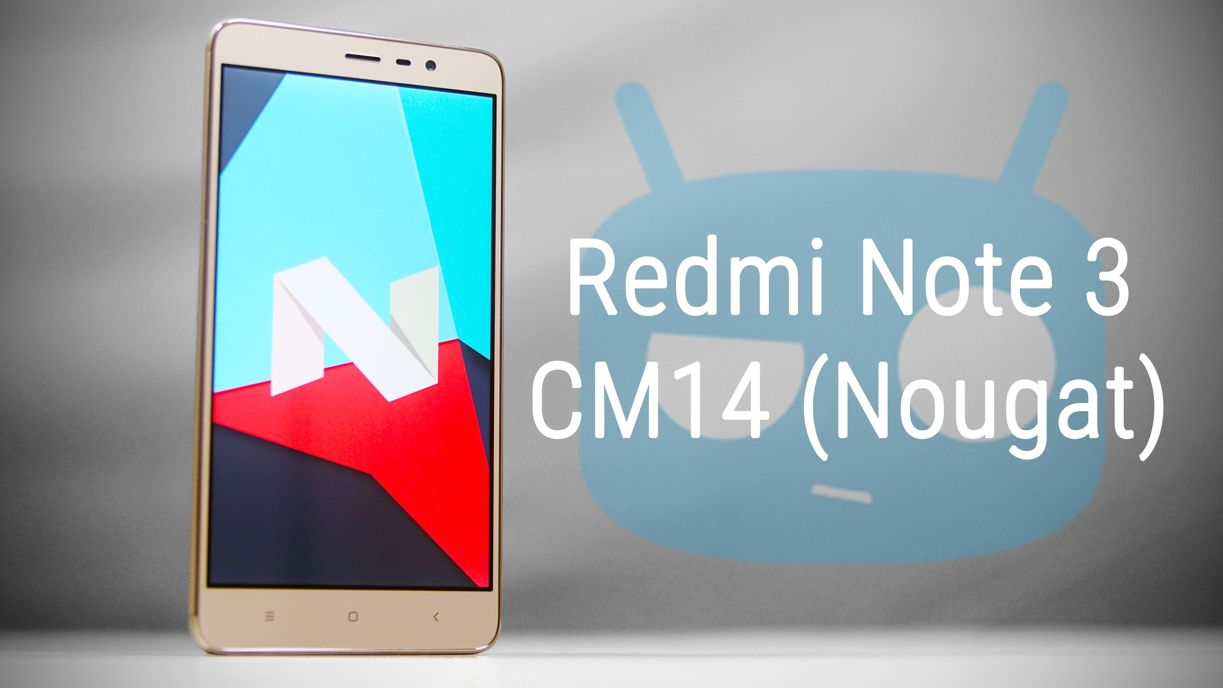 Redmi Note 3 Android Nougat