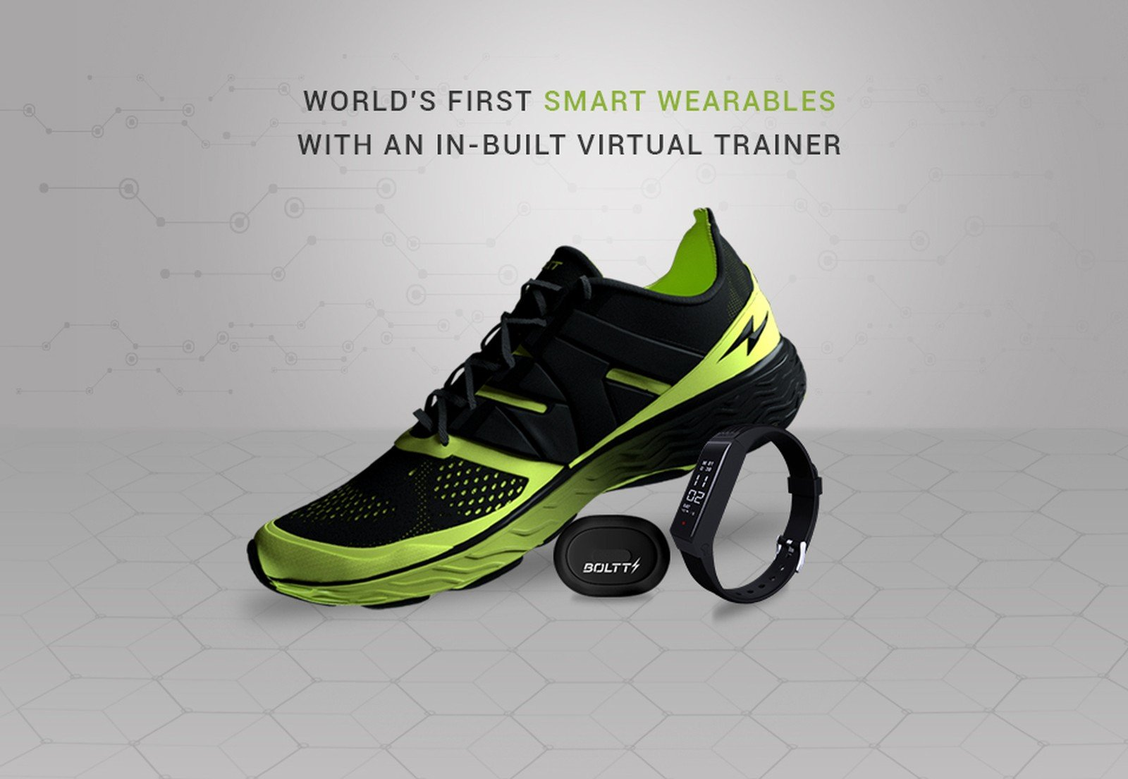 Boltt connected shoes
