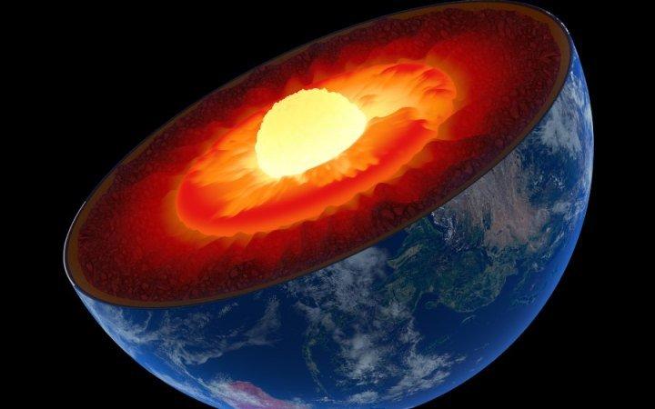""" Earth's core"""