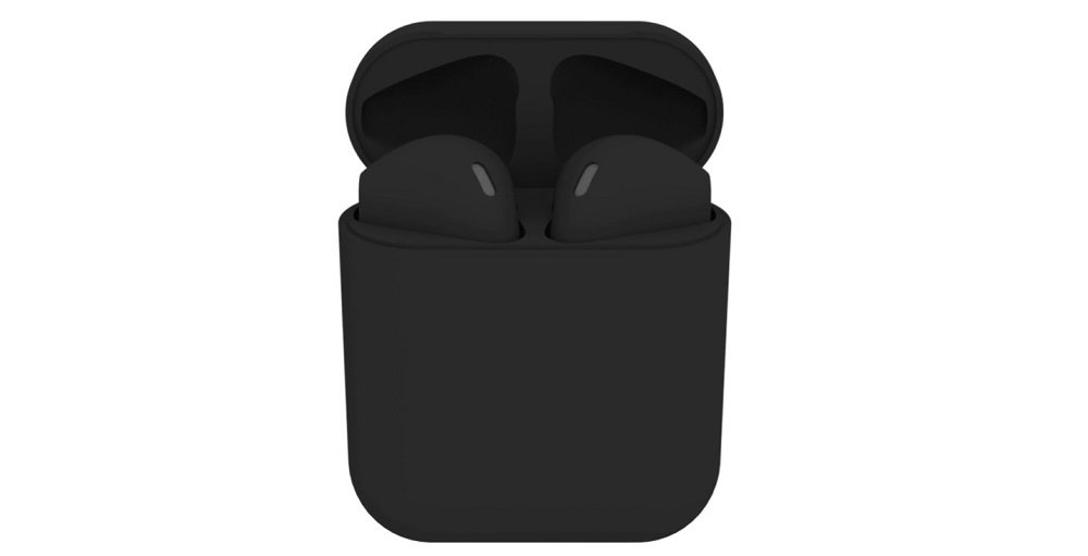 black Apple AirPods