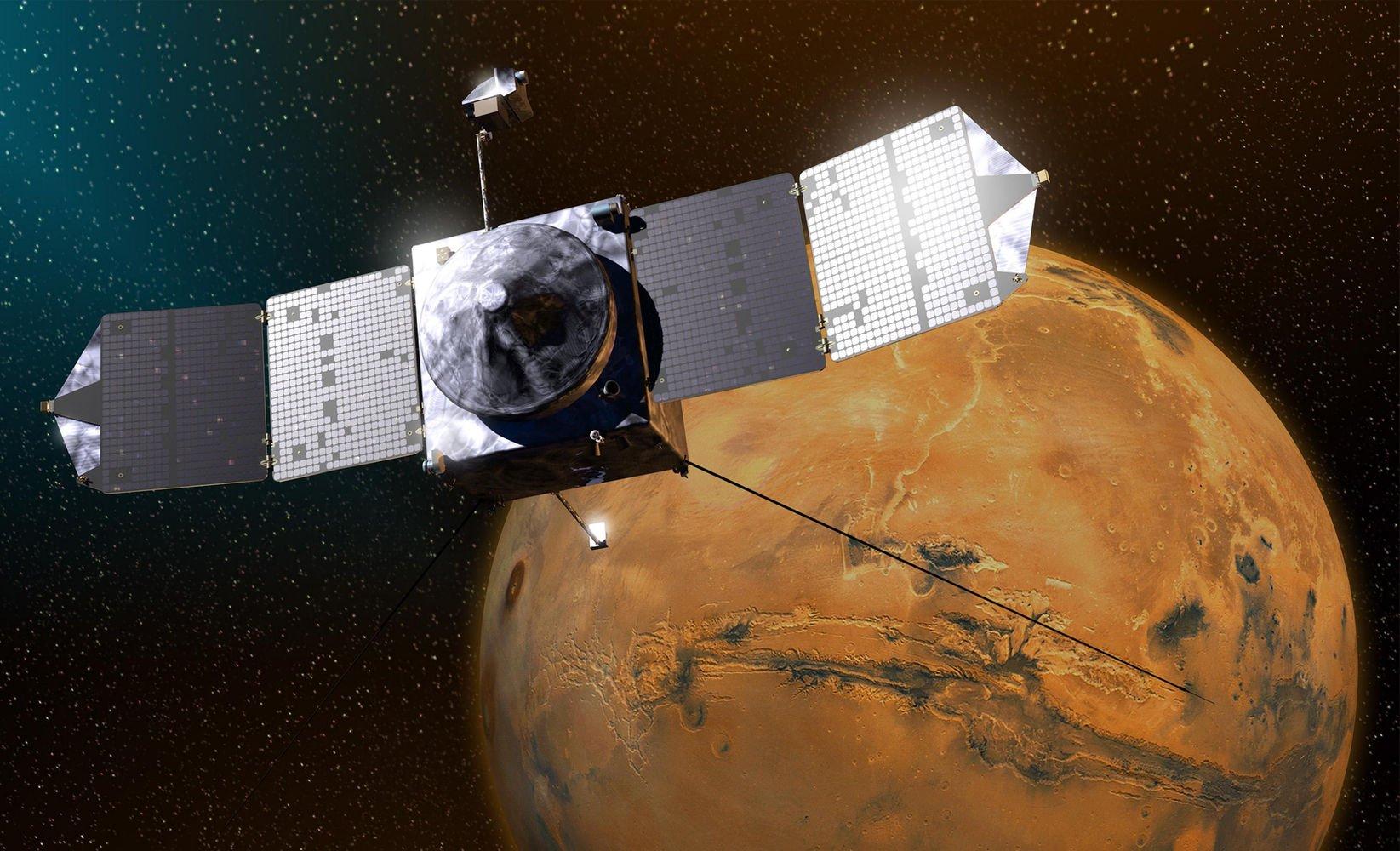 """""""NASA Mars Orbiter"""""""