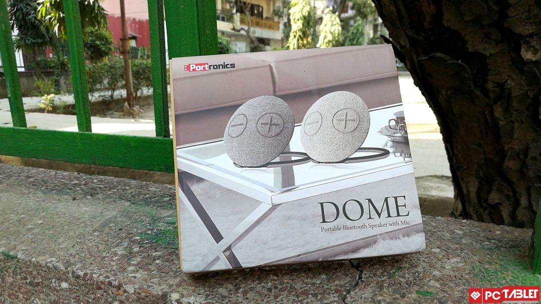 Portronics Dome Bluetooth Speaker 1