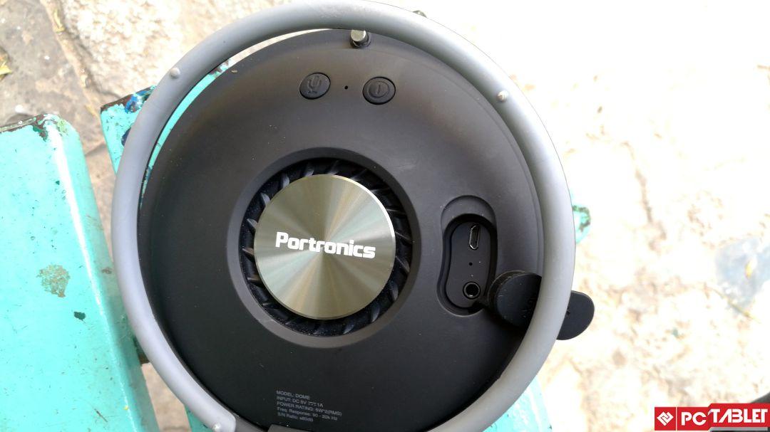 Portronics Dome Bluetooth Speaker 6