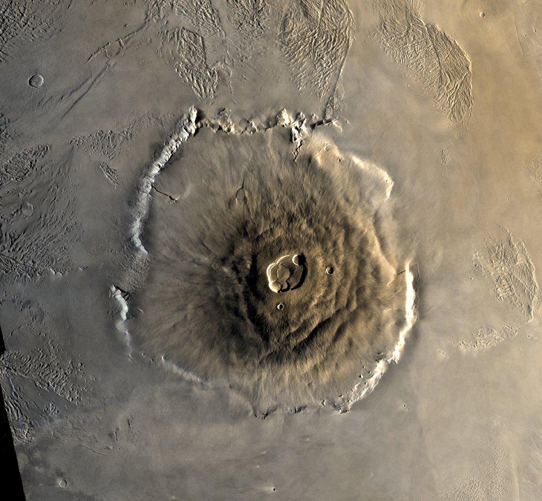 """Volcanic activity on Mars"""