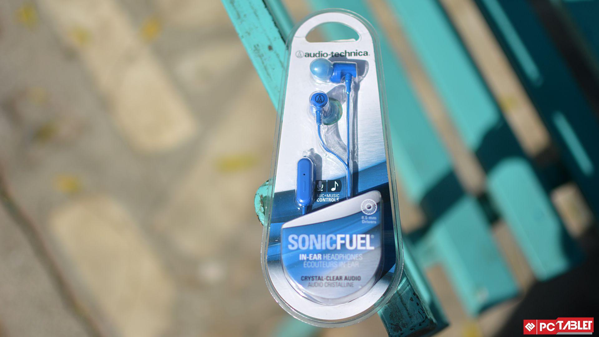 Audio Technical Sonic Fuel Earphones 1