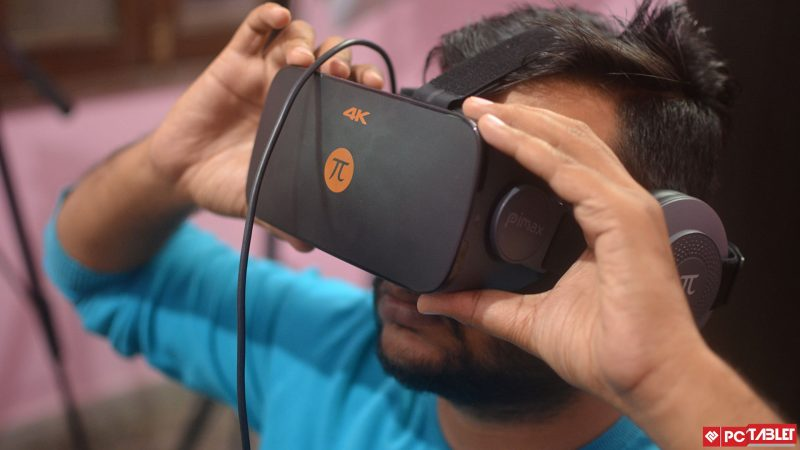 Game over for joysticks? Fove virtual reality headset lets