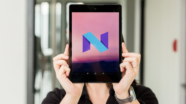 android Nougat tablets