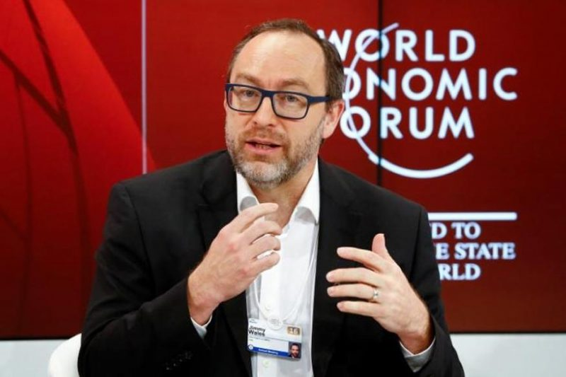 Jimmy Wales and Wikitribune