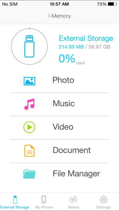 iPhone SD Card Reader