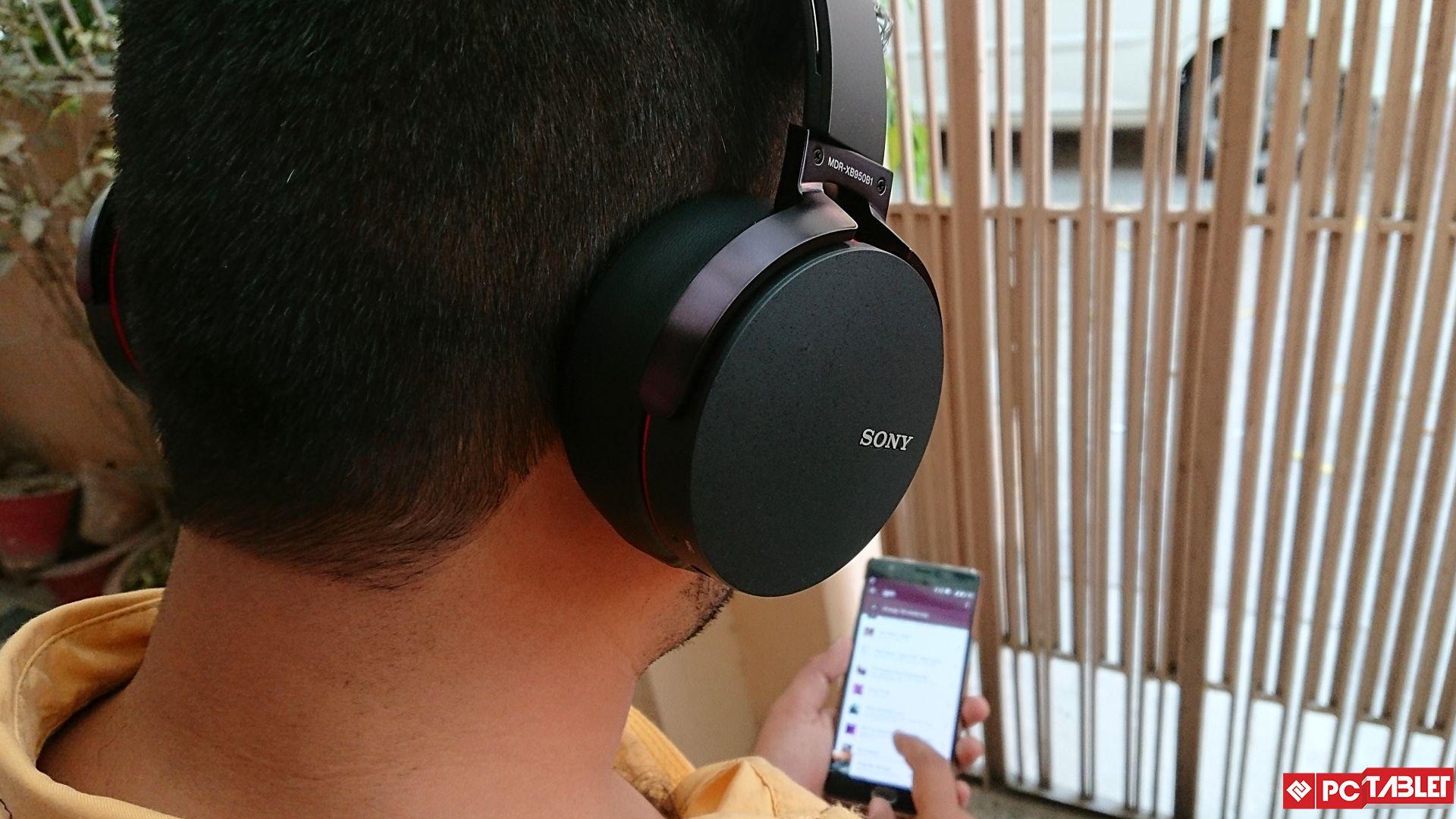 Sony MDR XB950B1 6