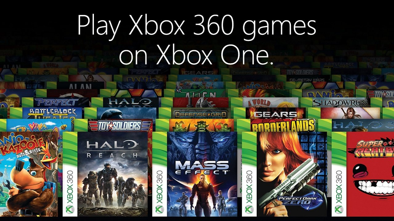 Xbox One backwards compatible