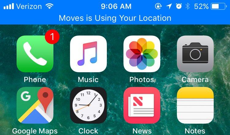 Location iOS 11