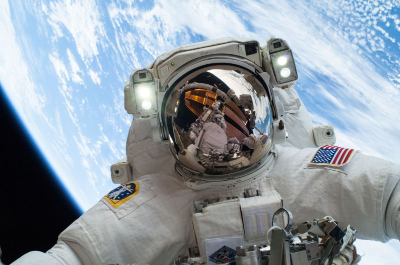 nasa spacewalking iss