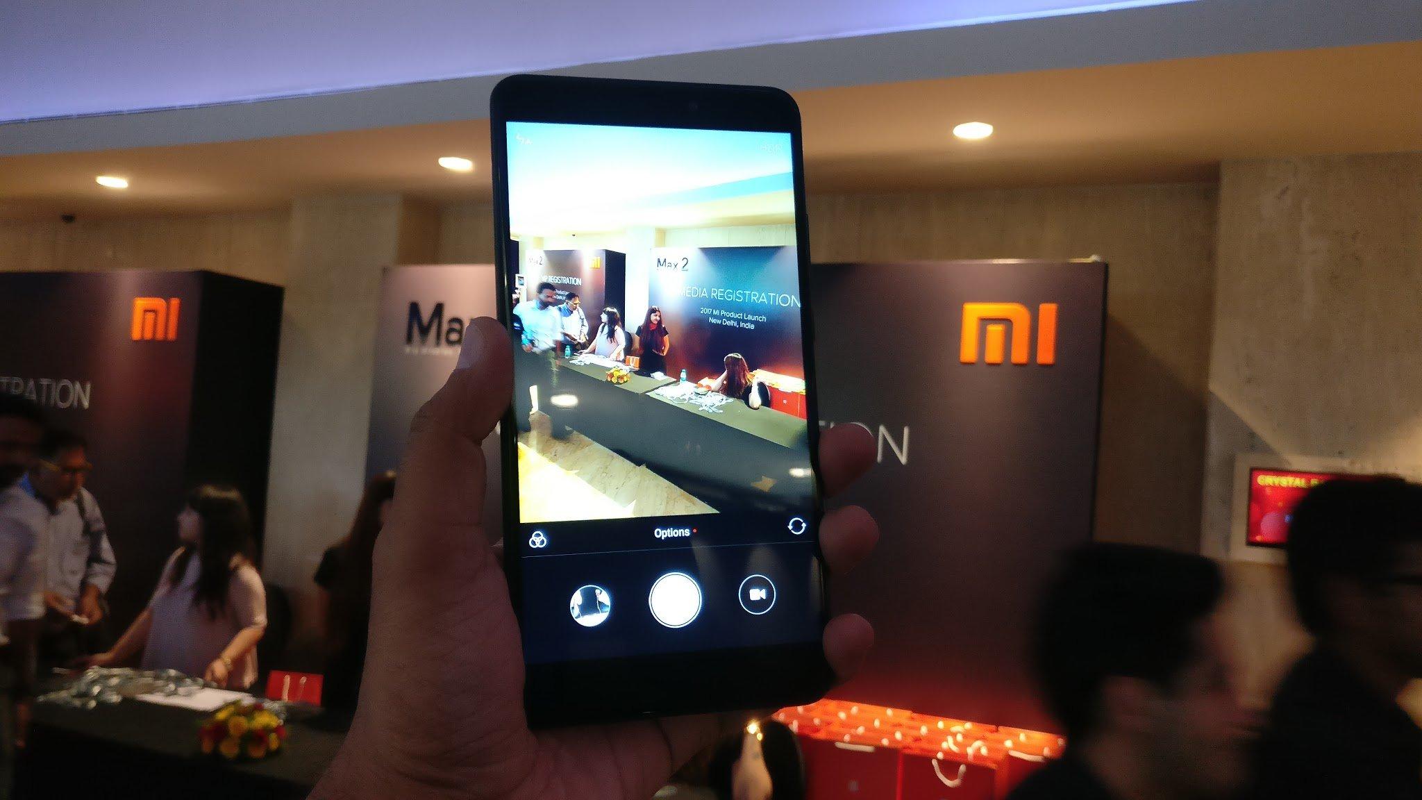 Xiaomi Mi Max 2 Cam