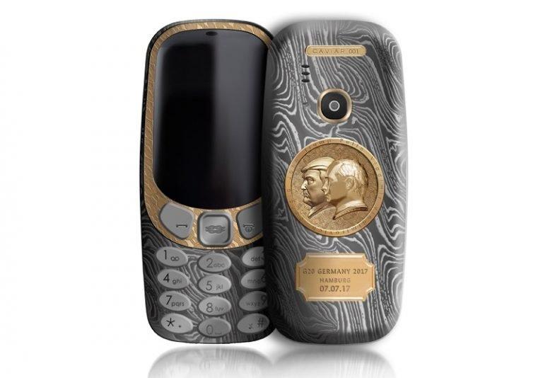 Nokia 3310 Putin Trump Edition