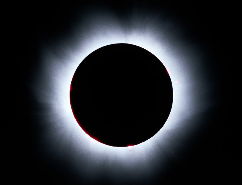 Eclipse is caused by Sun's Corona