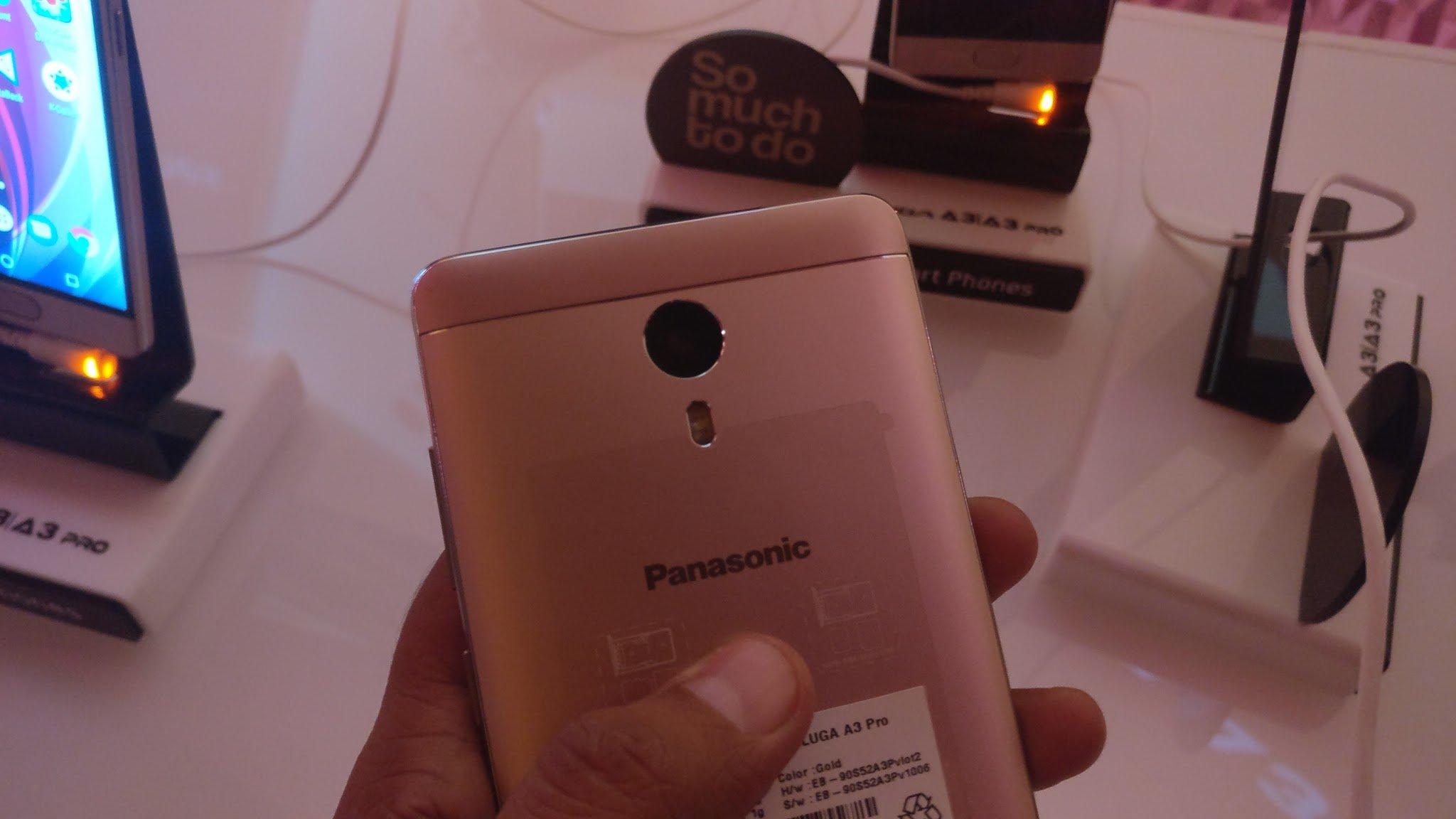 Panasonic Eluga A3 and A3 Pro