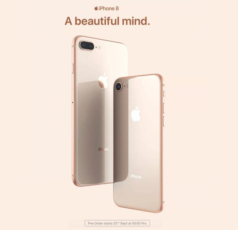 Apple iPhone 8 Flipkart pre order Sep 22