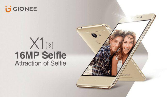 gionee x1s smartphone india