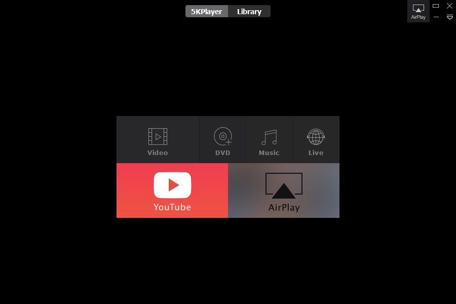 5kplayer interface