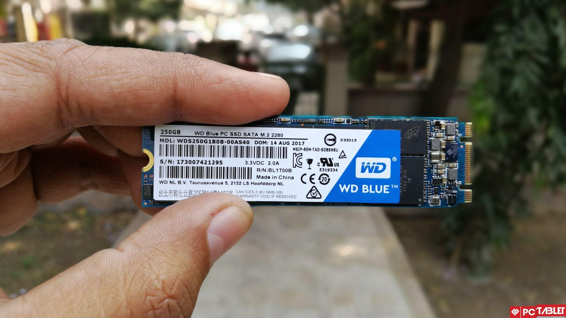 WD Blue PC SSD