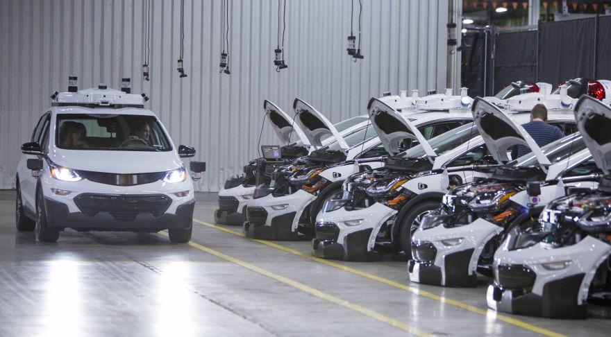 GM self driving cars
