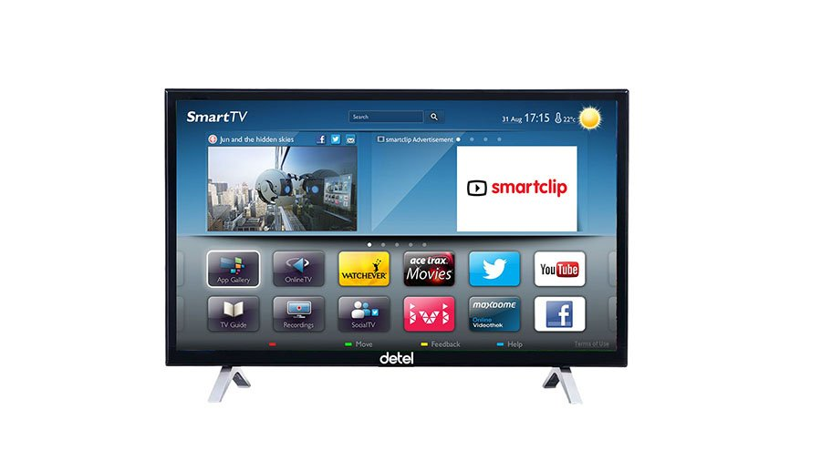 Detel 32 inch Smart LED TV